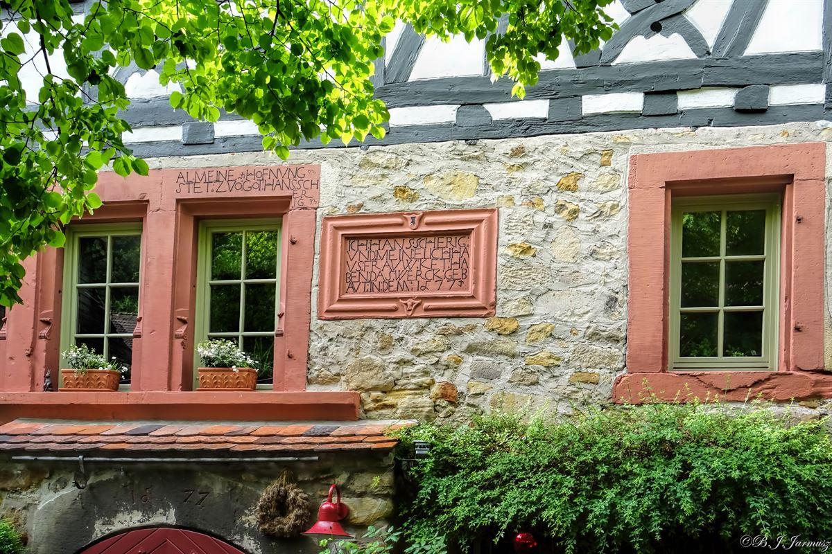 Schindersburg – Haus eines wohlhabenden Mühlers.